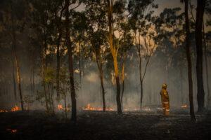 Rural firefighter Australia