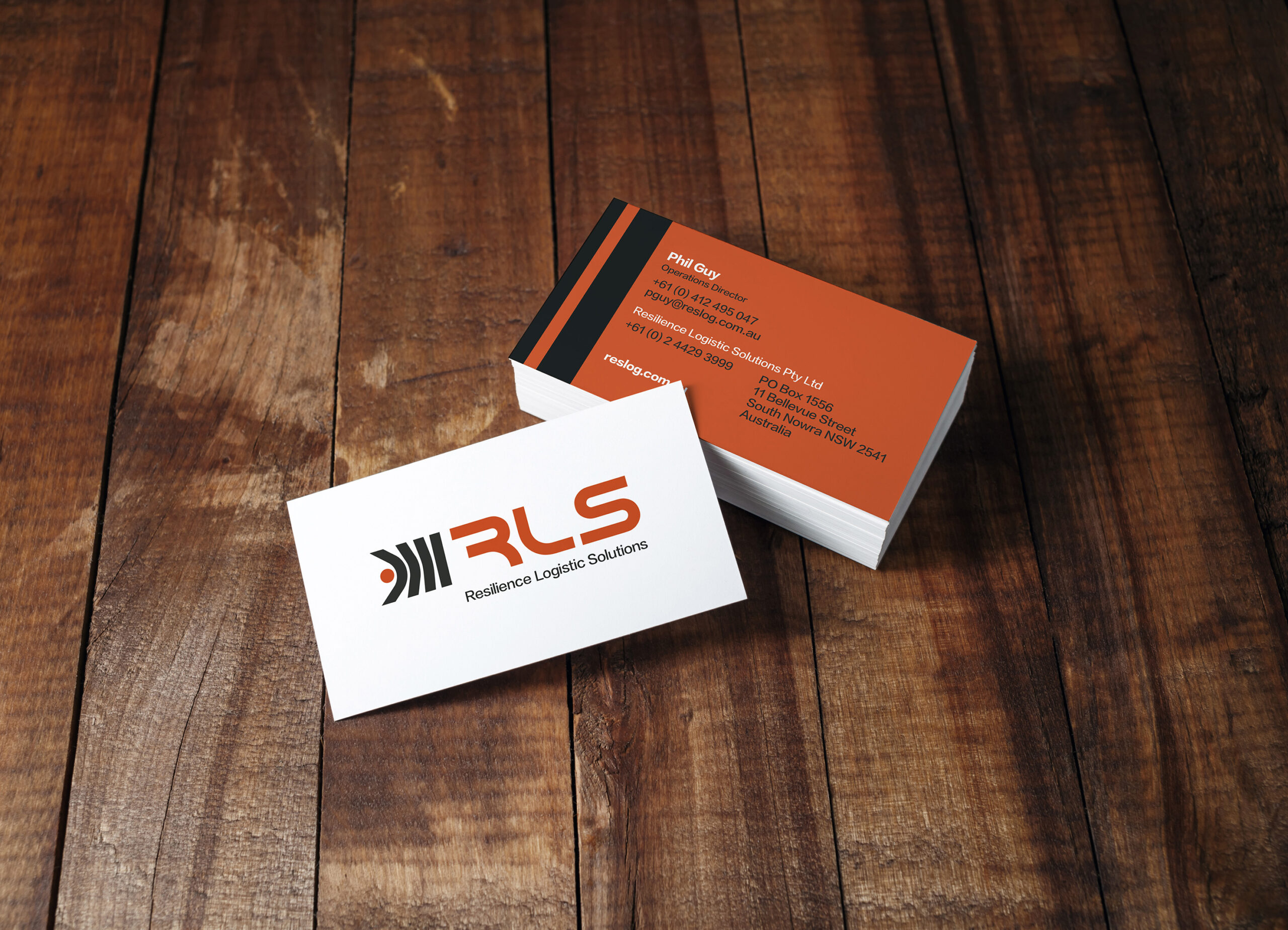 RLS business card